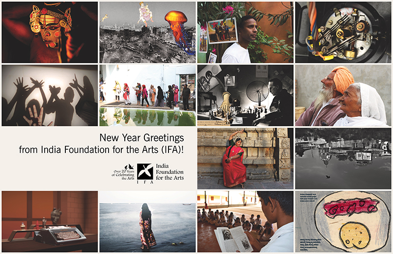Welcome the New Year with the Limited Edition 2020-2021 Calendar! | India Foundation for the Arts