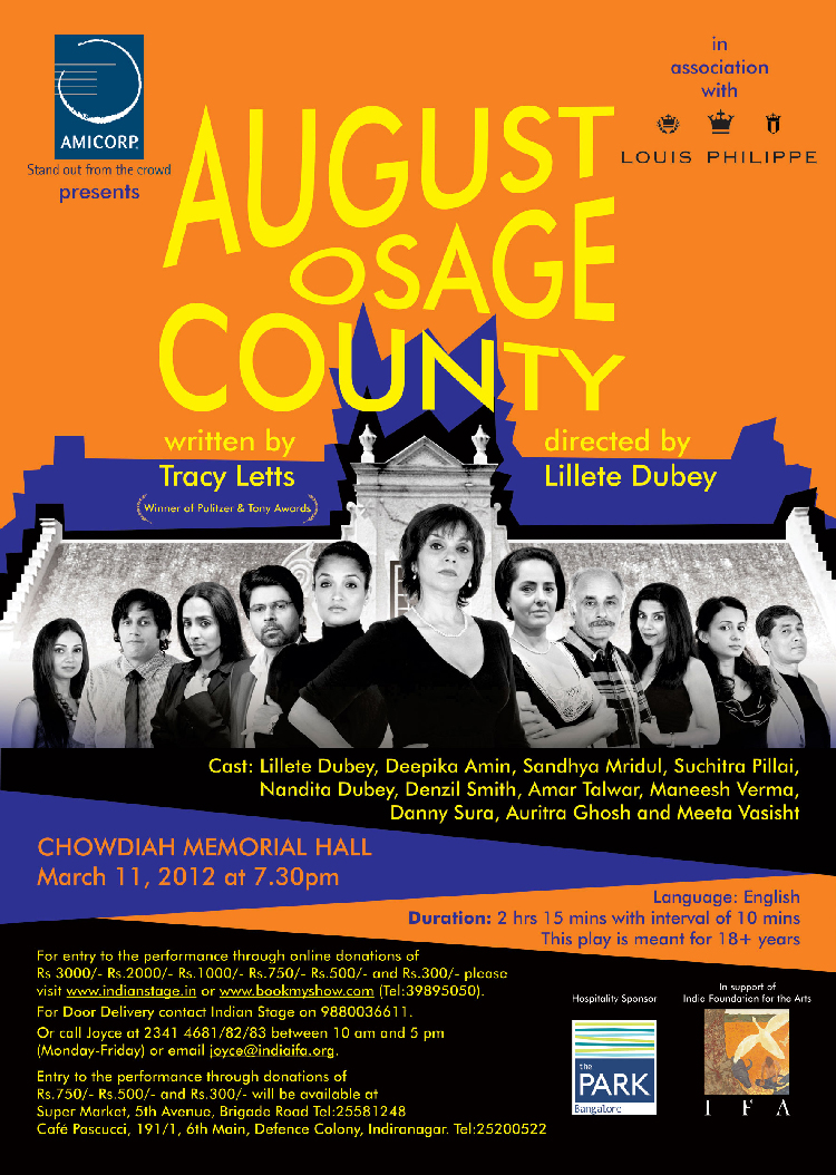 August Ausage County Poster