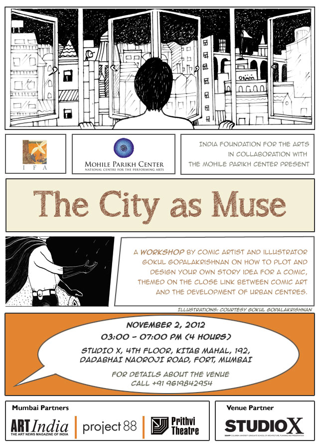 The City as Muse, Gokul TG
