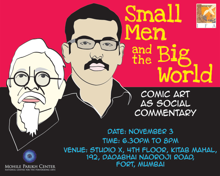 Gokul TG Subhendu Dasgupta 'Small men and the big world'
