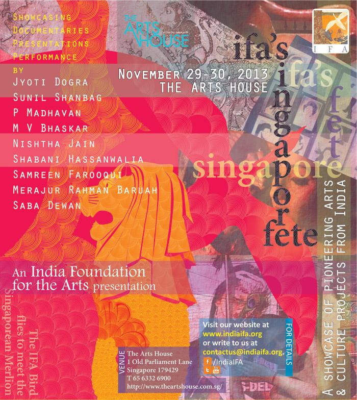 IFA's Singapore Fete ~ November 29-30, 2013