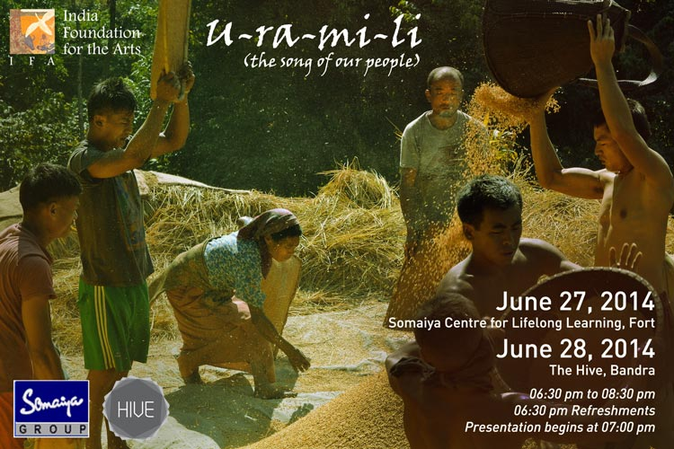 U-ra-mi-li by documentary filmmaker Anushka Meenakshi in collaboration with theatre actor Iswar Srikumar