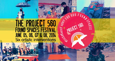 Project 560 Found Spaces Festival