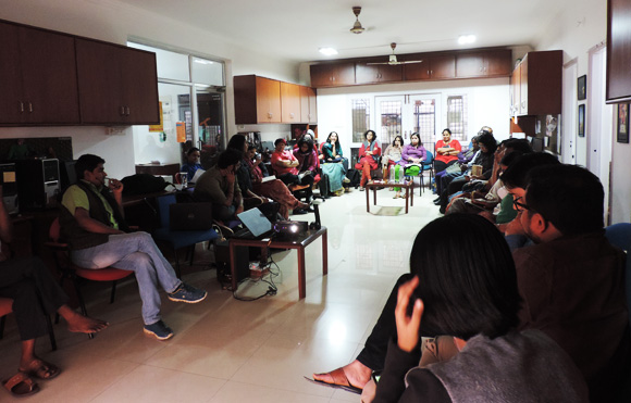 A glimpse from our Grantee Orientation programme spanning two days of discussion, presentations and conversation
