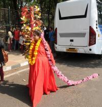 Project 560: Basavanagudi Live Art Project, Bull Temple Street