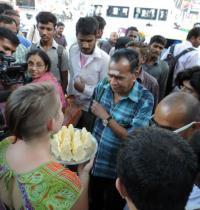 Project 560: Basavanagudi Live Art Project, Ramakrishna Ashrama Circle